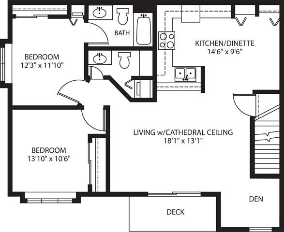 2 Bedrooms 2 Bathrooms Apartment for rent at Rivershire in Greenfield, WI