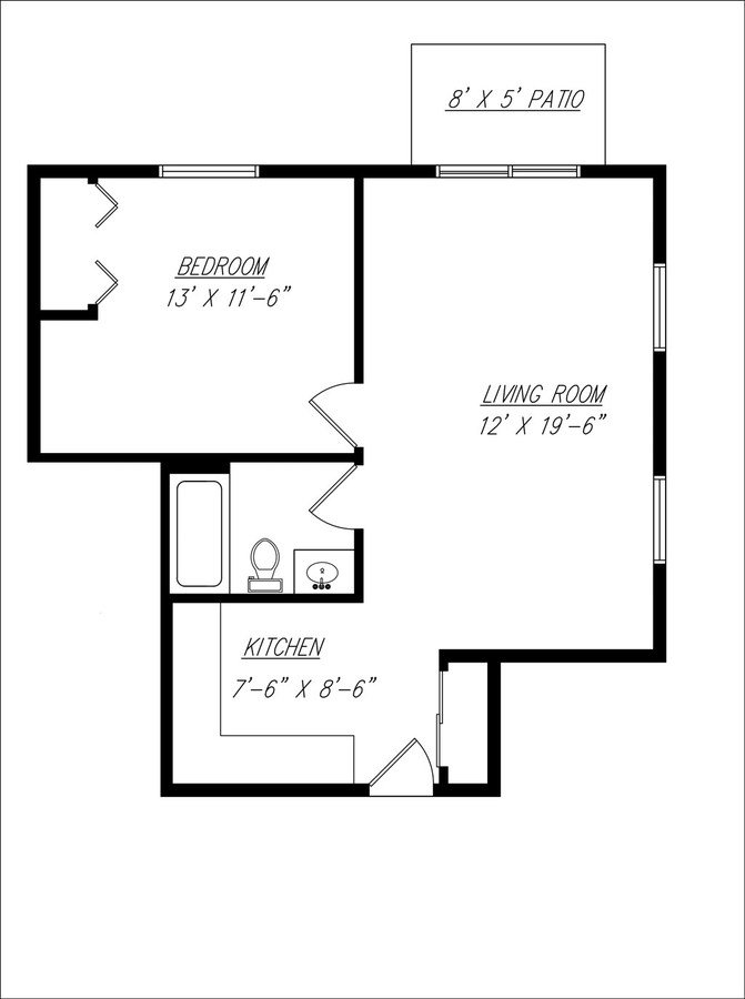 1 Bedroom 1 Bathroom Apartment for rent at Pine Shadow Apartments in Cedarburg, WI