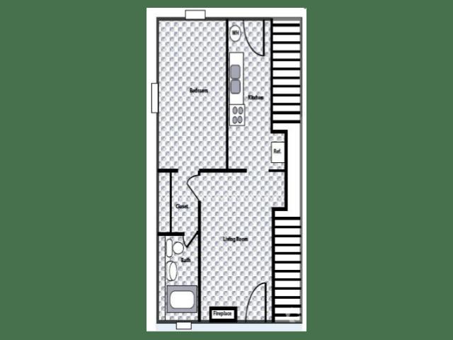 1 Bedroom 1 Bathroom Apartment for rent at Westside Crossing in Atlanta, GA