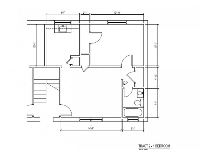 1 Bedroom 1 Bathroom Apartment for rent at 1462 Memorial Drive in Atlanta, GA