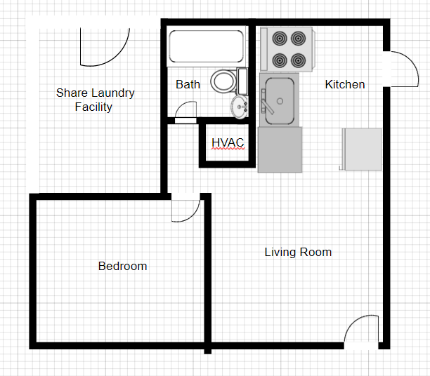 1 Bedroom 1 Bathroom Apartment for rent at 1054 Ridge in Atlanta, GA