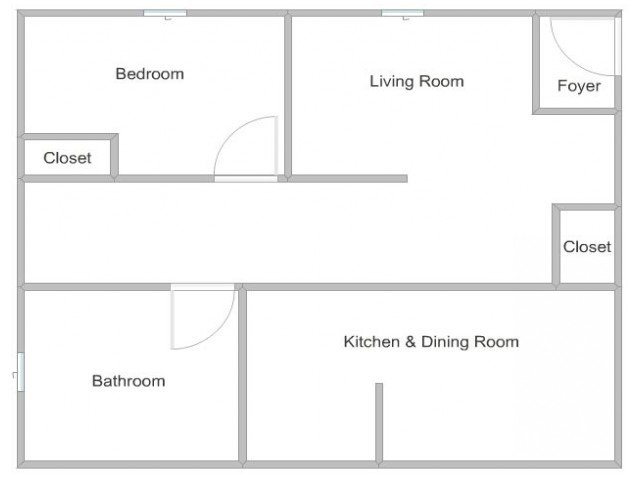 1 Bedroom 1 Bathroom Apartment for rent at Ridgewood Apartments in Lawrenceville, GA