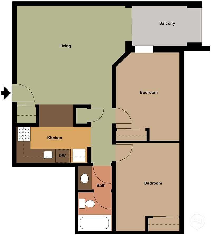Oak Tree Apartments Madison, WI