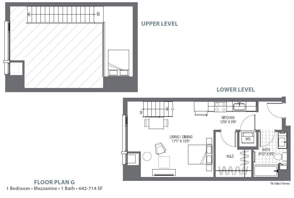 Studio 1 Bathroom Apartment for rent at Atelier At University Park in Denver, CO