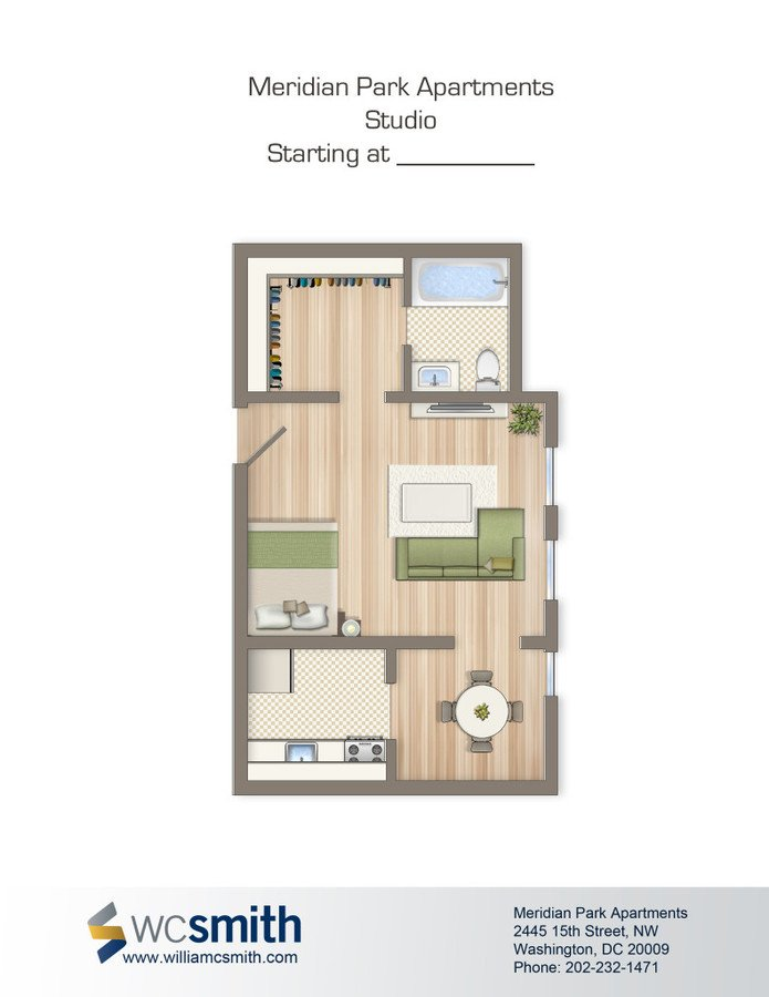 Meridian Park Apartments Washington, DC