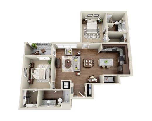 2 Bedrooms 2 Bathrooms Apartment for rent at 300 Swift in Durham, NC