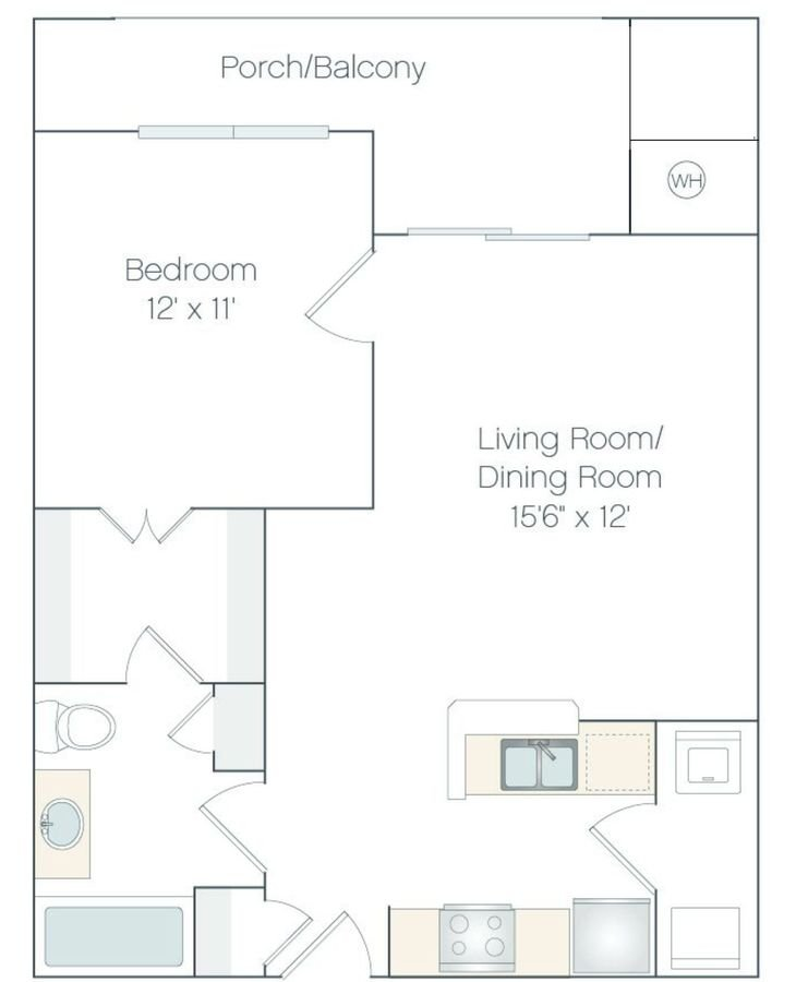 1 Bedroom 1 Bathroom Apartment for rent at Haven 124 At Eastlake Station in Northglenn, CO