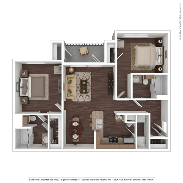 2 Bedrooms 2 Bathrooms Apartment for rent at Providence At Prairie Oaks in Arlington, TX