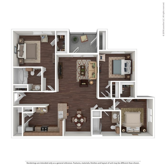 Studio 1 Bathroom Apartment for rent at Providence At Prairie Oaks in Arlington, TX