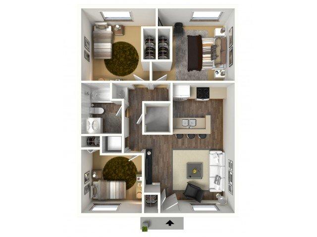 3 Bedrooms 1 Bathroom Apartment for rent at The Berkeley At Regis in Denver, CO