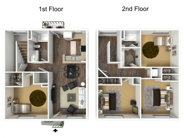 4 Bedrooms 2 Bathrooms Apartment for rent at The Berkeley At Regis in Denver, CO