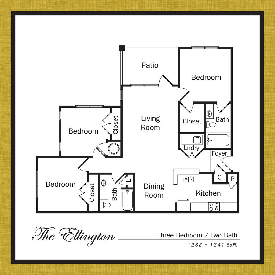 3 Bedrooms 2 Bathrooms Apartment for rent at Legacy Village Apartments in Mooresville, NC