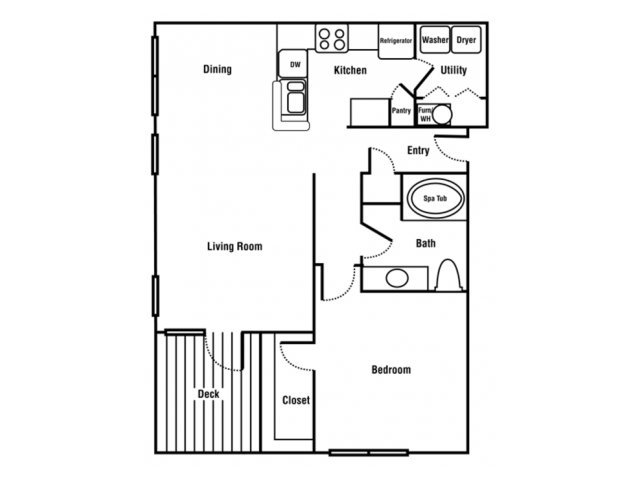 1 Bedroom 1 Bathroom Apartment for rent at Cedar Grove in North Charleston, SC