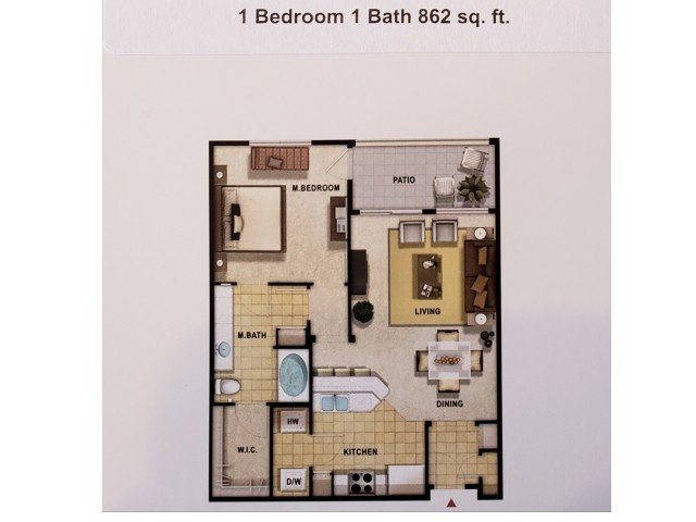 1 Bedroom 1 Bathroom Apartment for rent at 9920 Apartments in Phoenix, AZ
