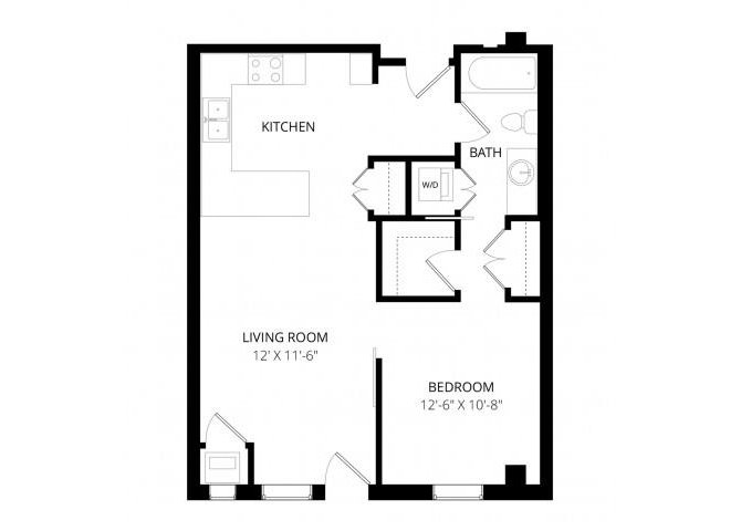 1 Bedroom 1 Bathroom Apartment for rent at Vue Apartment Homes in Minneapolis, MN