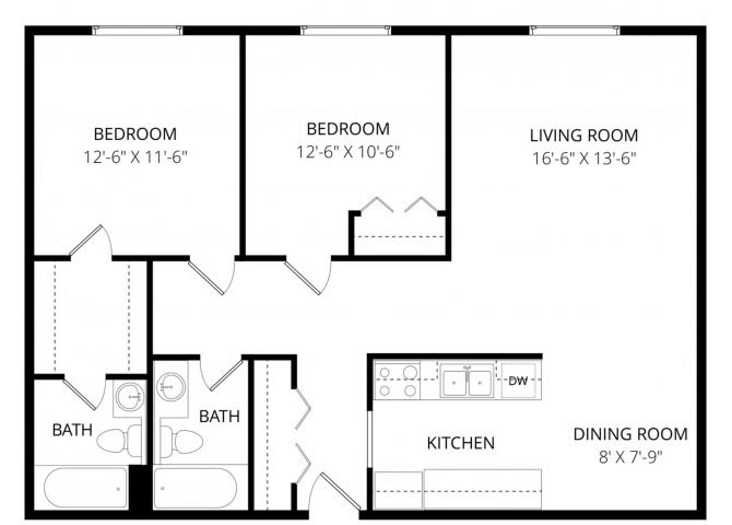 2 Bedrooms 2 Bathrooms Apartment for rent at Taiga in Anchorage, AK