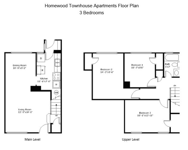 3 Bedrooms 1 Bathroom Apartment for rent at Homewood Townhouse Apartments in Birmingham, AL