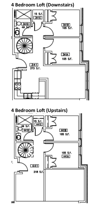 4 Bedrooms 2 Bathrooms Apartment for rent at Opus Hall And Davis Square in Omaha, NE