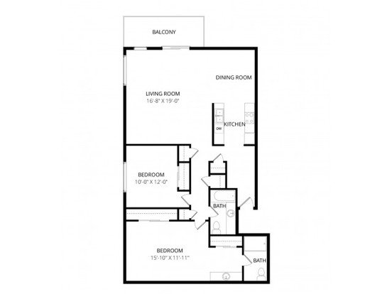 2 Bedrooms 2 Bathrooms Apartment for rent at Overlook At Magnolia in Seattle, WA