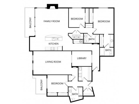 3 Bedrooms 3 Bathrooms Apartment for rent at Overlook At Magnolia in Seattle, WA