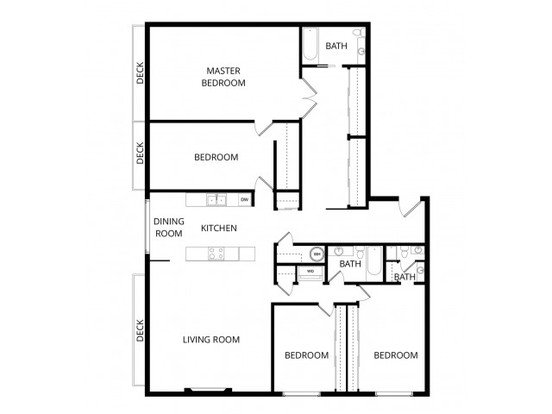 4 Bedrooms 3 Bathrooms Apartment for rent at Overlook At Magnolia in Seattle, WA