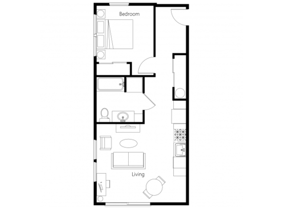 1 Bedroom 1 Bathroom Apartment for rent at Leilani On Greenwood in Seattle, WA