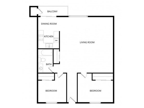 2 Bedrooms 1 Bathroom Apartment for rent at Sherwood Apartment Homes in Seattle, WA