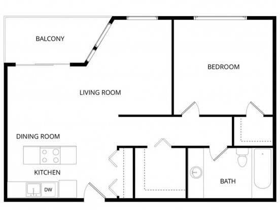 1 Bedroom 1 Bathroom Apartment for rent at Sherwood Apartment Homes in Seattle, WA