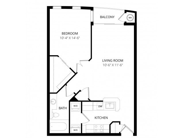 1 Bedroom 1 Bathroom Apartment for rent at Visions Apartment Homes in Peoria, AZ