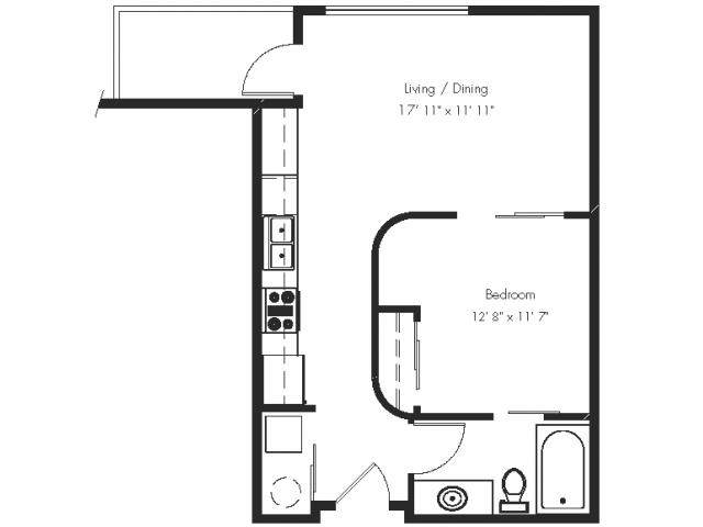 1 Bedroom 1 Bathroom Apartment for rent at Ondine At Juanita Bay in Kirkland, WA
