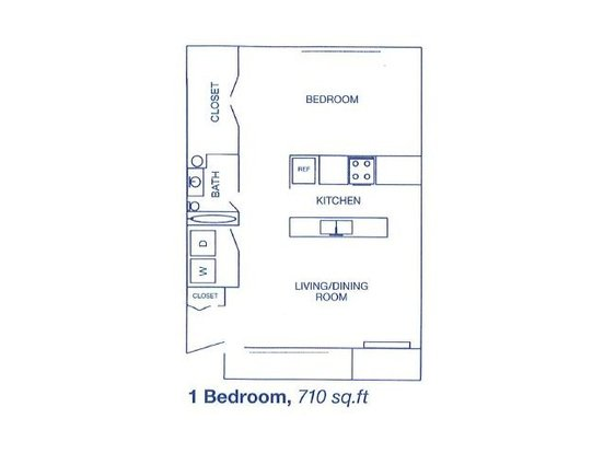 1 Bedroom 1 Bathroom Apartment for rent at Bend Of The River Apartment Homes in Kent, WA