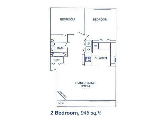 2 Bedrooms 1 Bathroom Apartment for rent at Bend Of The River Apartment Homes in Kent, WA