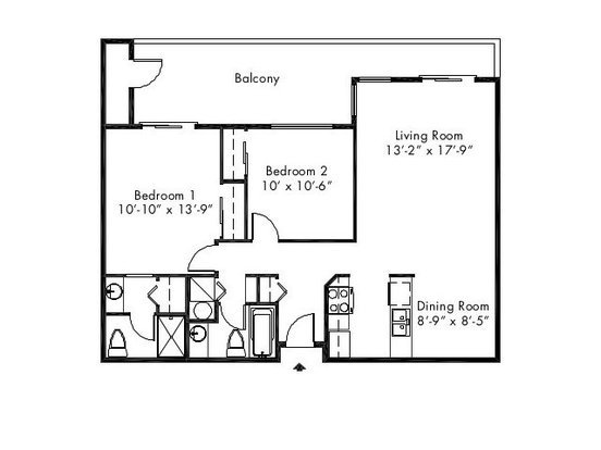 2 Bedrooms 2 Bathrooms Apartment for rent at Heritage Hill Apartment Homes in Renton, WA