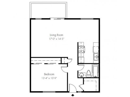 1 Bedroom 1 Bathroom Apartment for rent at Overlook At Magnolia in Seattle, WA