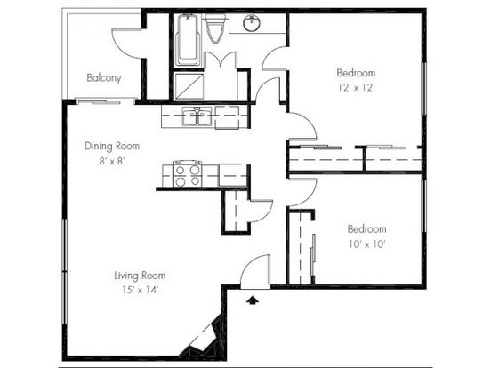 2 Bedrooms 1 Bathroom Apartment for rent at The Ridge & Shores Apartments in Federal Way, WA