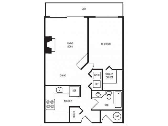1 Bedroom 1 Bathroom Apartment for rent at Majestic Bay Townhomes in Des Moines, WA