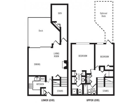 2 Bedrooms 2 Bathrooms Apartment for rent at Majestic Bay Townhomes in Des Moines, WA