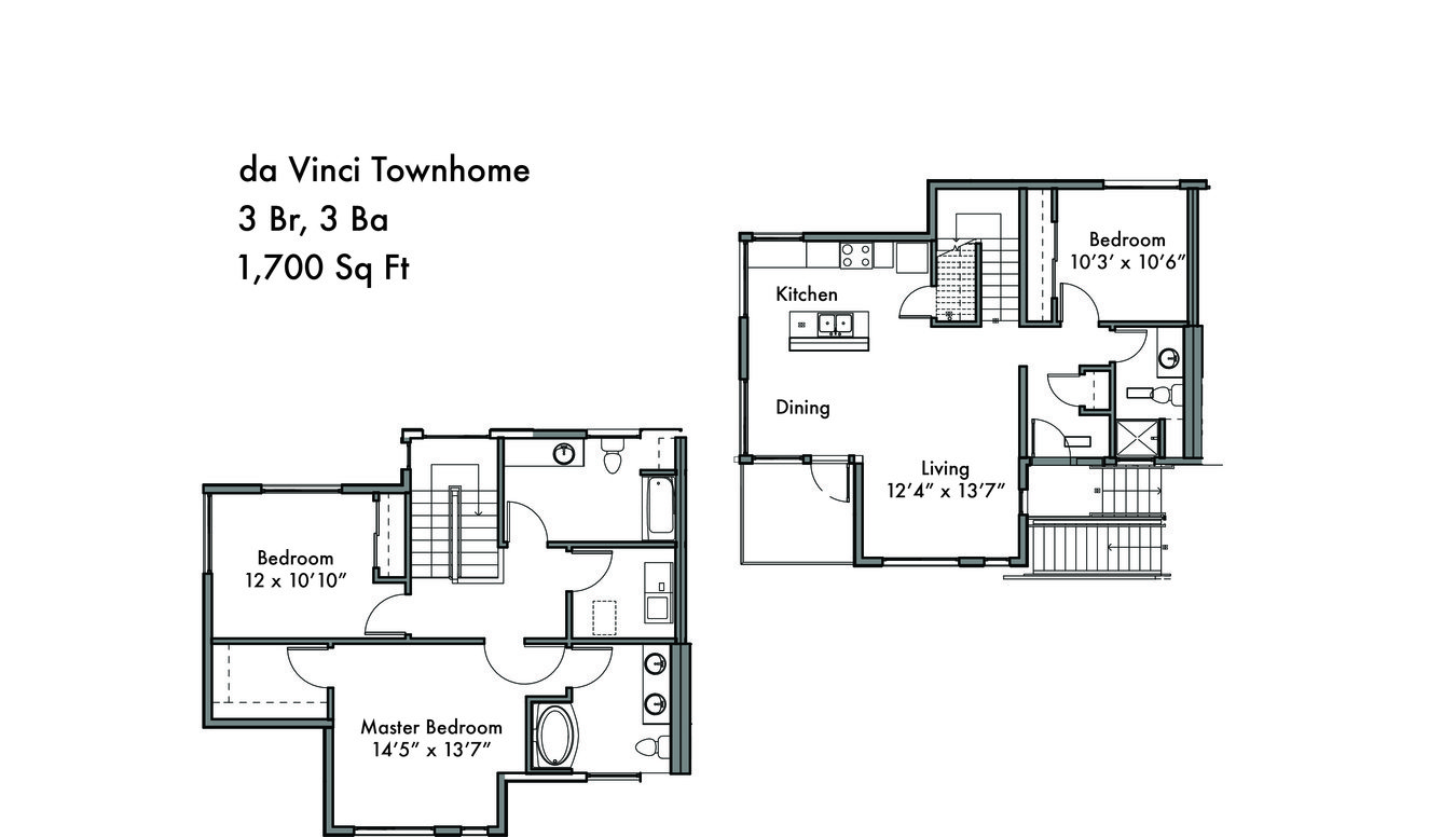 3 Bedrooms 3 Bathrooms Apartment for rent at Discovery West in Issaquah, WA