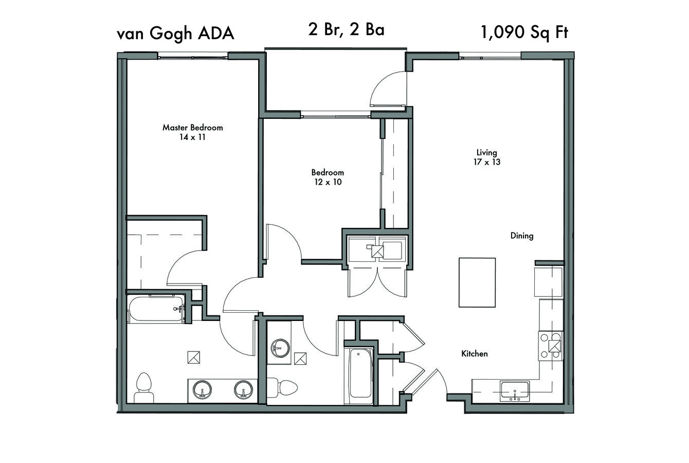 2 Bedrooms 2 Bathrooms Apartment for rent at Discovery West in Issaquah, WA