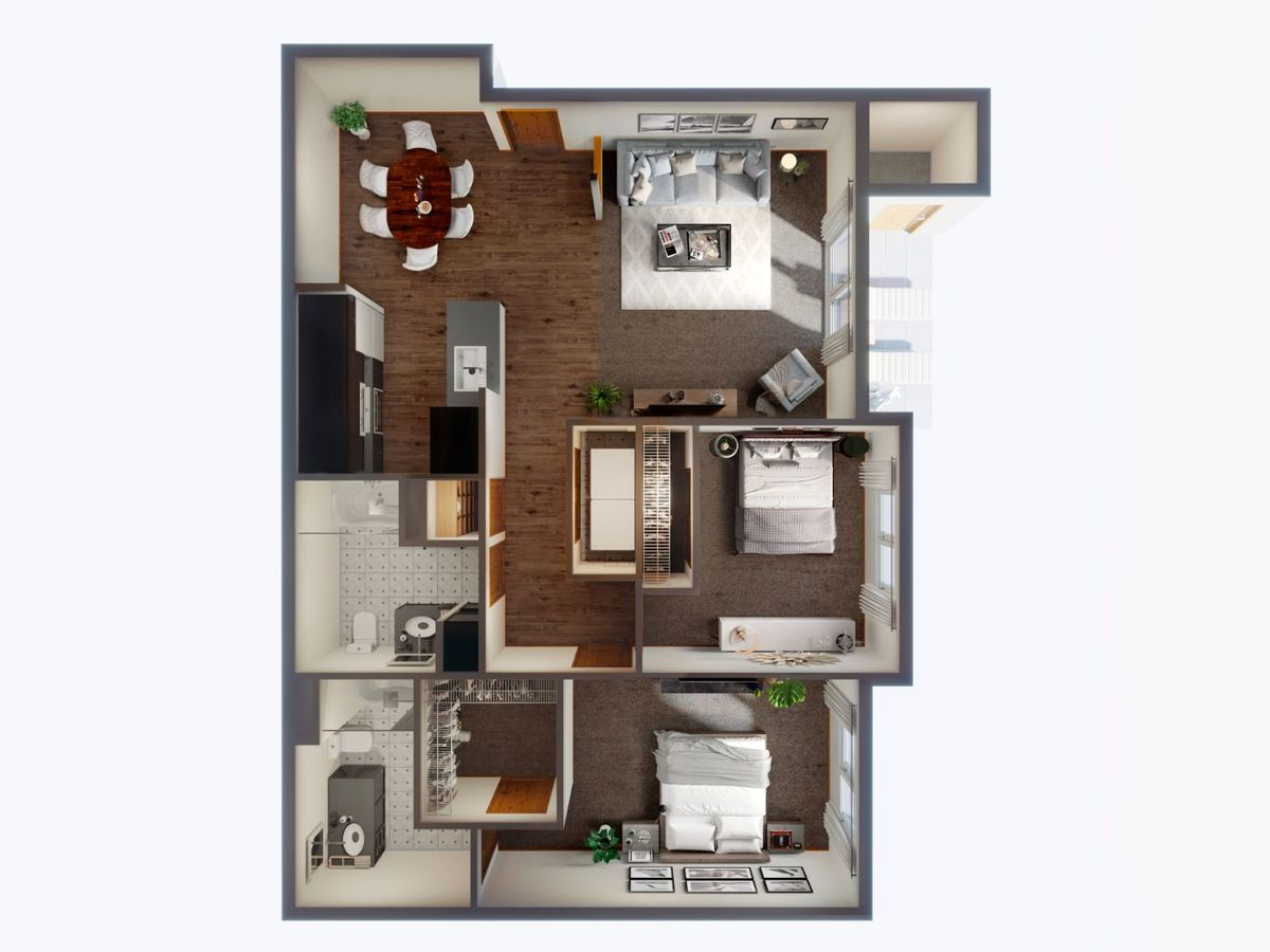 2 Bedrooms 2 Bathrooms Apartment for rent at Panorama in North Bend, WA