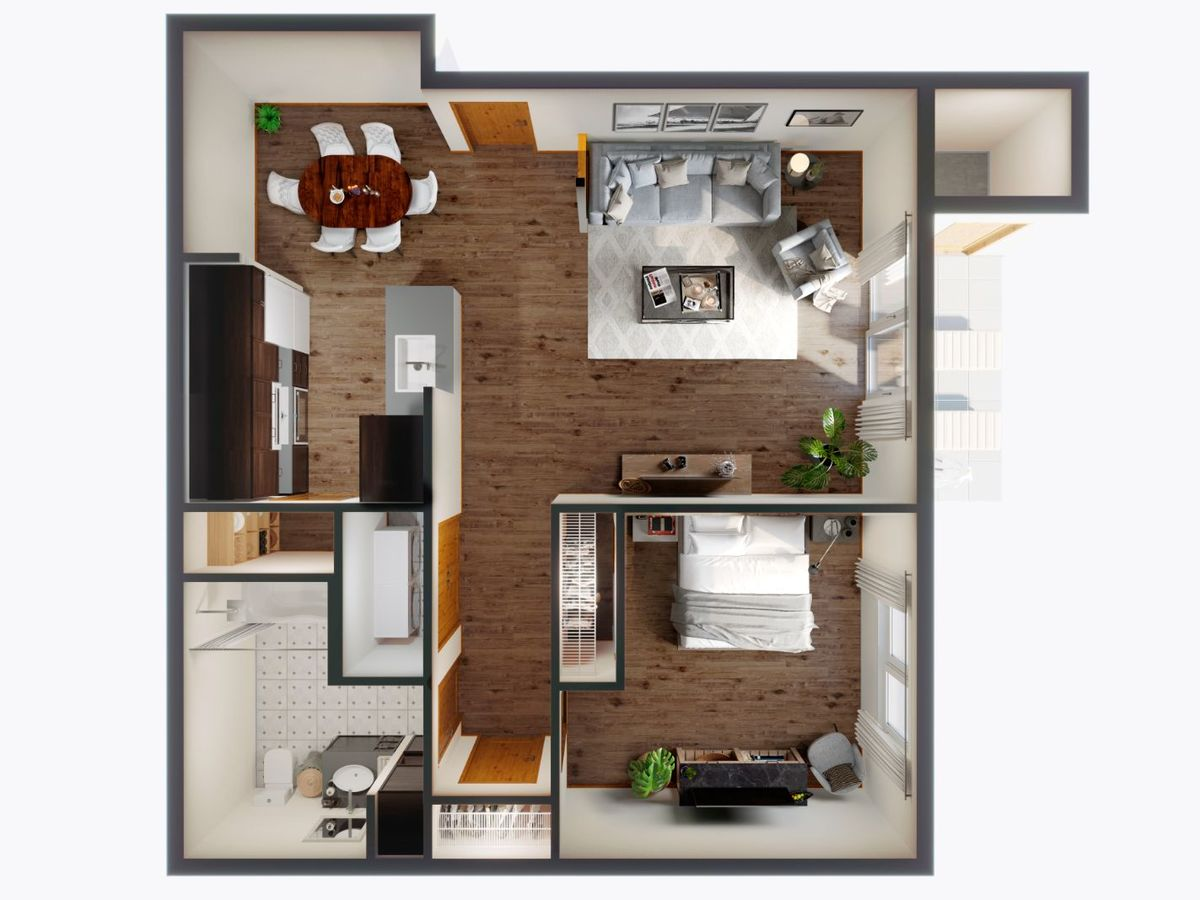1 Bedroom 1 Bathroom Apartment for rent at Panorama in North Bend, WA