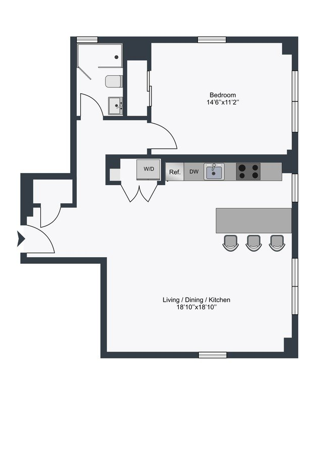 1 Bedroom 1 Bathroom Apartment for rent at The Century in Washington, DC