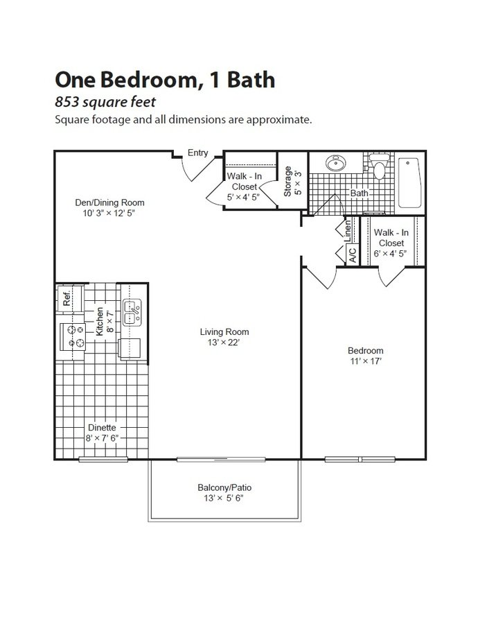 1 Bedroom 1 Bathroom Apartment for rent at Charlton Park in West St Paul, MN