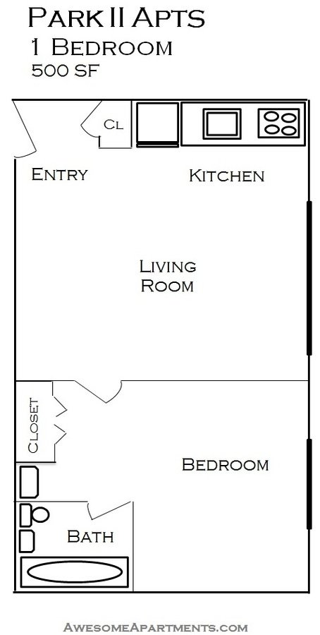 1 Bedroom 1 Bathroom Apartment for rent at 214 Place Apartments in Minneapolis, MN