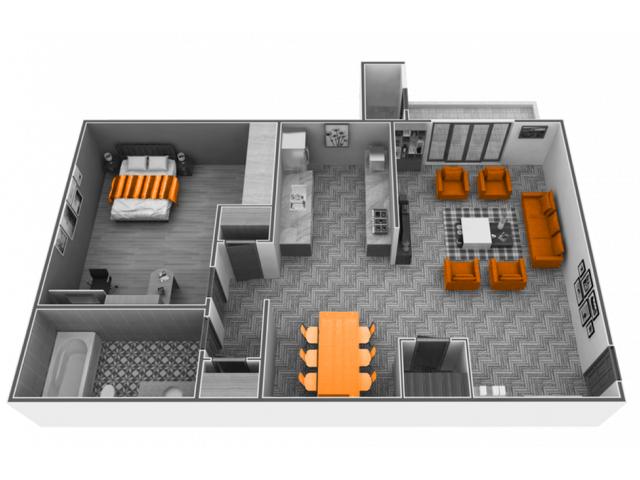 1 Bedroom 1 Bathroom Apartment for rent at Phoenix Sacramento in Sacramento, CA