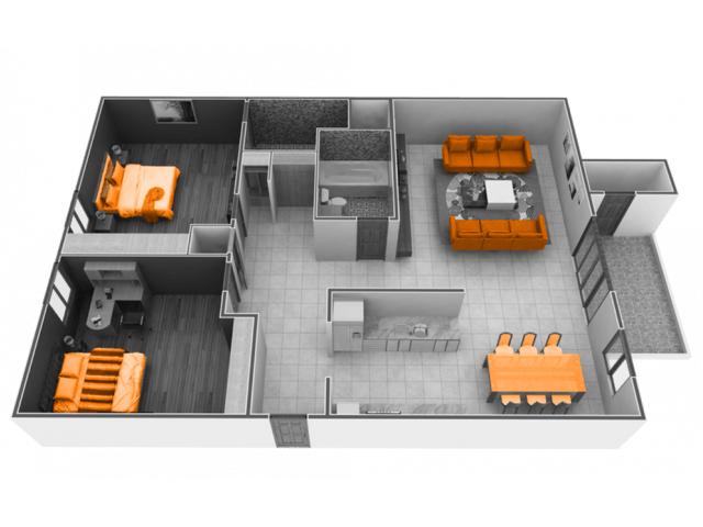 2 Bedrooms 2 Bathrooms Apartment for rent at Phoenix Sacramento in Sacramento, CA