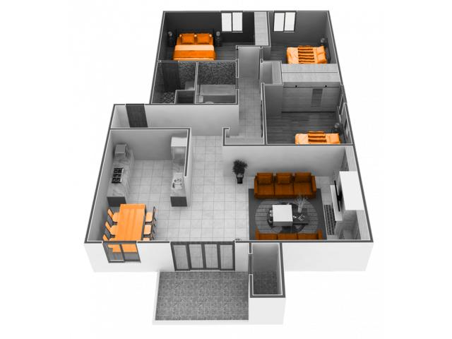 3 Bedrooms 2 Bathrooms Apartment for rent at Phoenix Sacramento in Sacramento, CA
