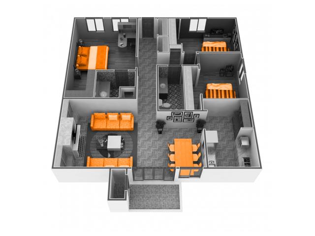 2 Bedrooms 1 Bathroom Apartment for rent at Phoenix Sacramento in Sacramento, CA