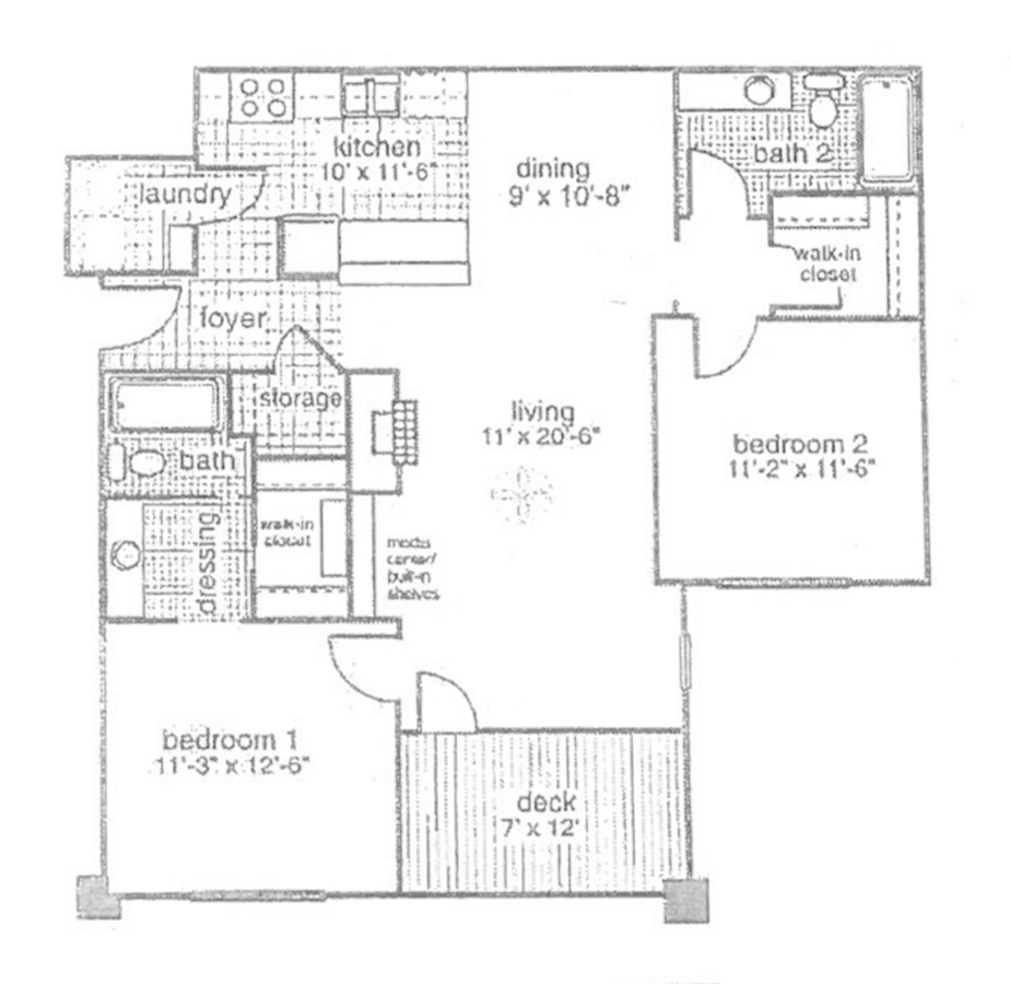 2 Bedrooms 2 Bathrooms Apartment for rent at Kings Pointe in Fayetteville, NC