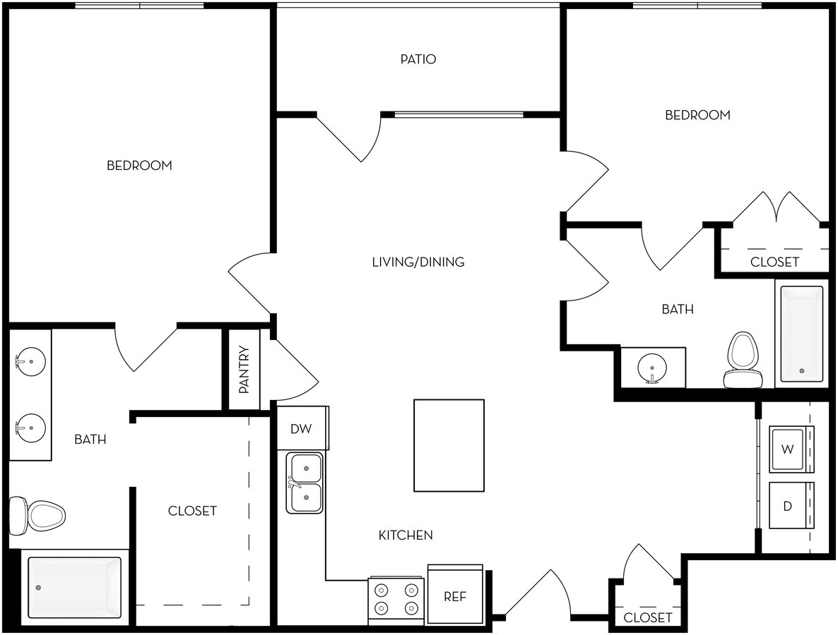 2 Bedrooms 2 Bathrooms House for rent at Brixton in Salt Lake City, UT